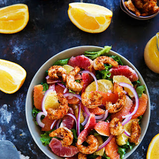 Spicy Shrimp and Citrus Salad