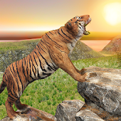 Ultimate Tiger Family Wild Animal Simulator Games icon