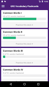 GRE Vocabulary Flashcards 3.5.0 Mod APK Latest Version 1
