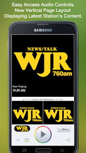 WJR-AM - screenshot thumbnail