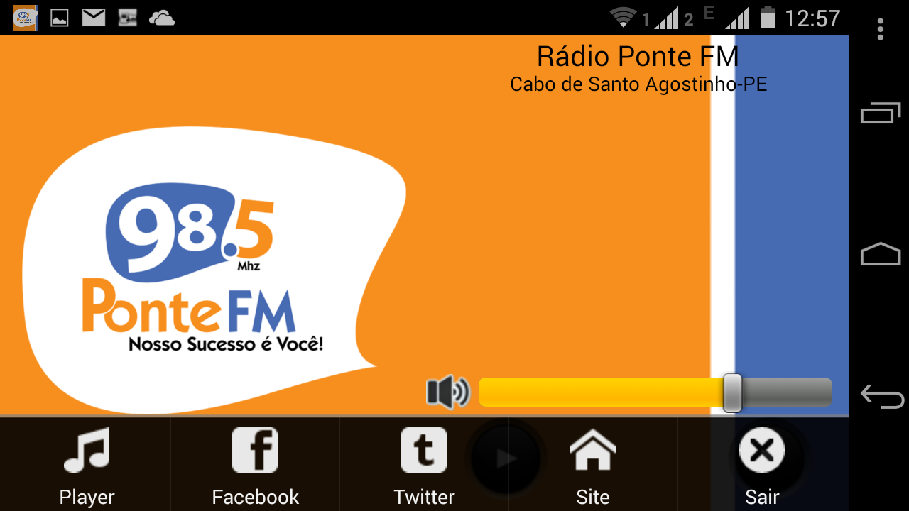Rádio Ponte FM- screenshot