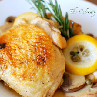 Oven Braised Lemon Chicken