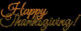 Happy Thanksgiving! ☺