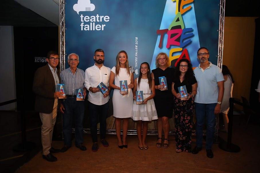 La Rambleta levantó el telón para acoger una nueva edición del concurso Teatre Faller