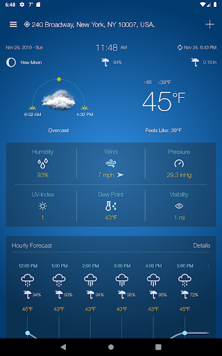 Weather Advanced for Android 1.0.4.6 Screenshots 14
