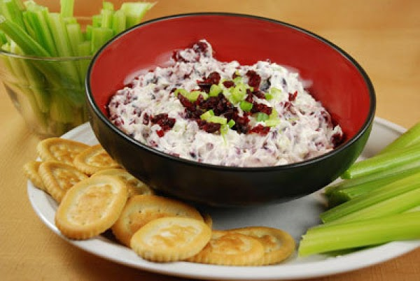 Dried Cranberry And Green Onion Dip Recipe