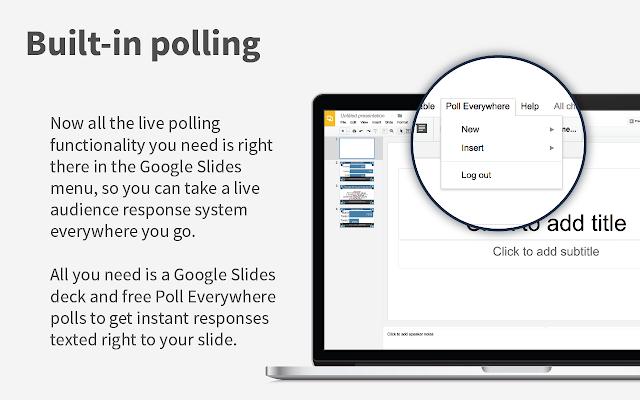 poll everywhere for google slides