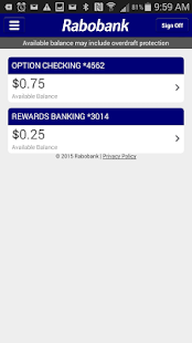 Rabobank Mobile Banking- screenshot thumbnail