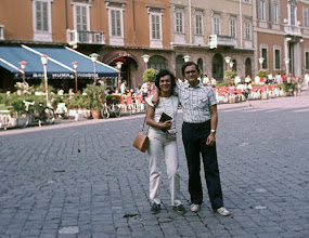 Photo: Agosto 1982 - Ravenna: piazza del Popolo