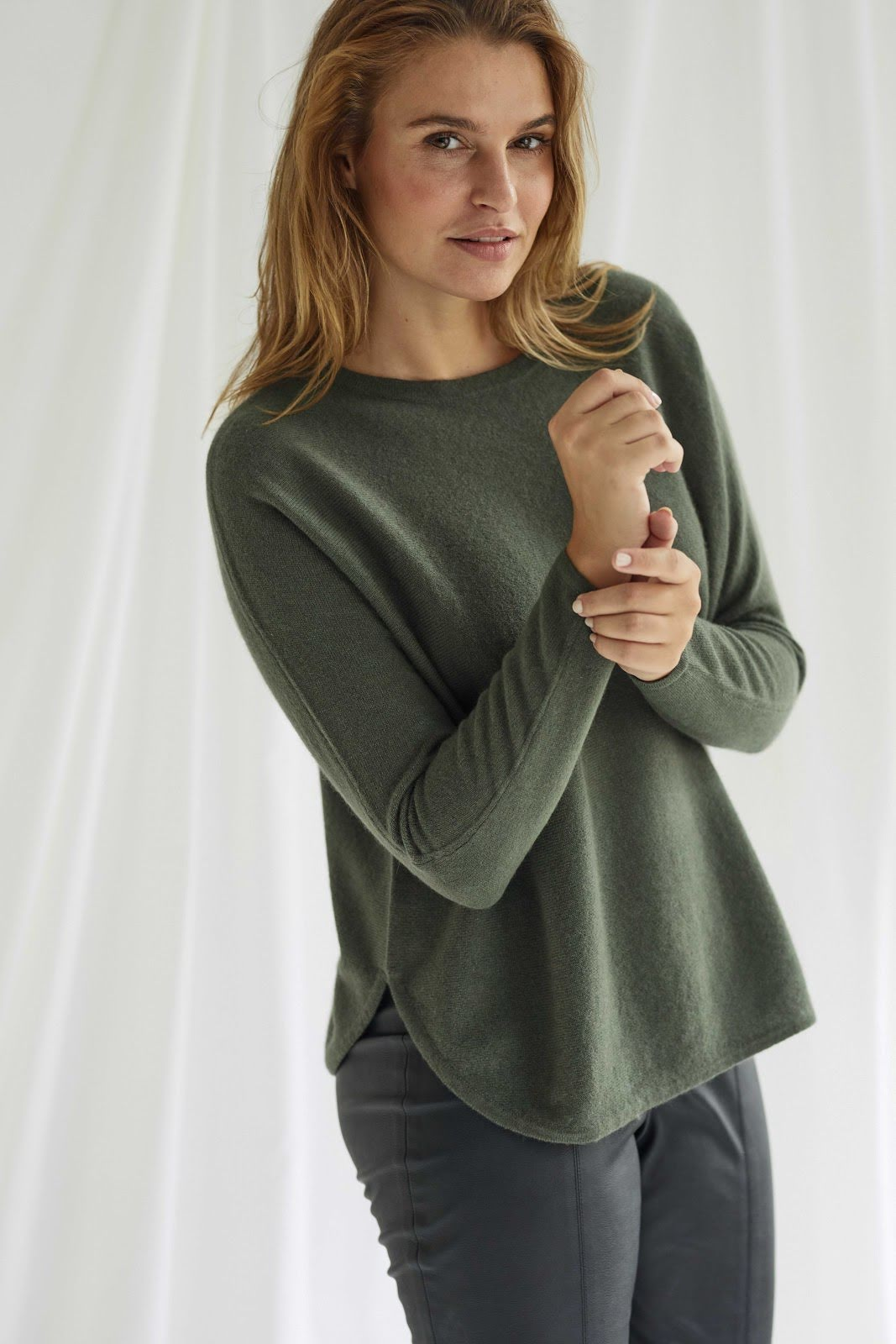 Curved Sweater