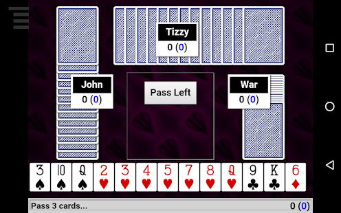 Hearts Card Game- screenshot thumbnail