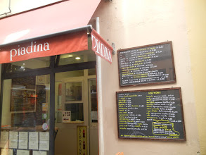Photo: You see piadina all over Italy now but it originated in Romagna, which is the region Ravenna is located in. So Ravenna is loaded with places to get them. https://en.wikipedia.org/wiki/Piadina