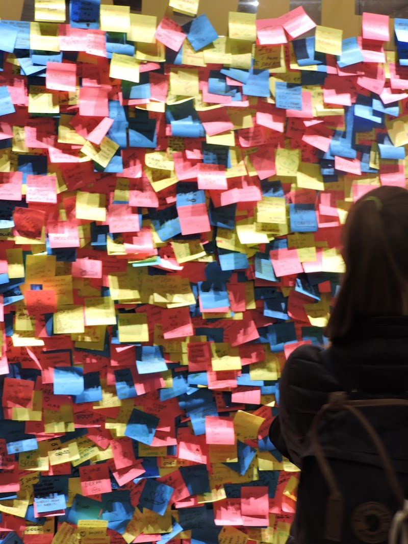 Un muro di post-it di Eleonora_Mos