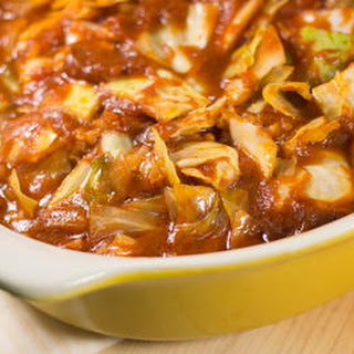 Lazy Unstuffed Cabbage Roll Casserole