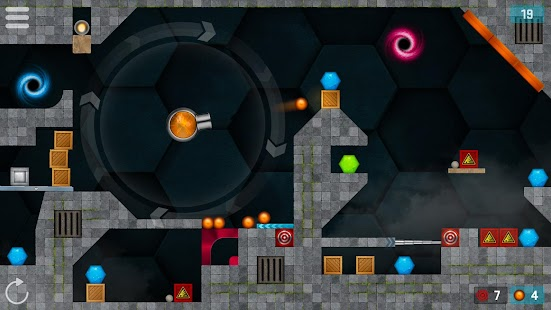 HEXASMASH 2 • Ball Shooter Physics Puzzle Screenshot
