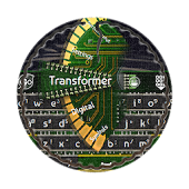 Transformer GO Keyboard Theme