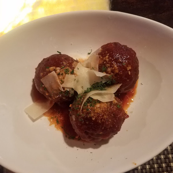 Meatballs were awesome!