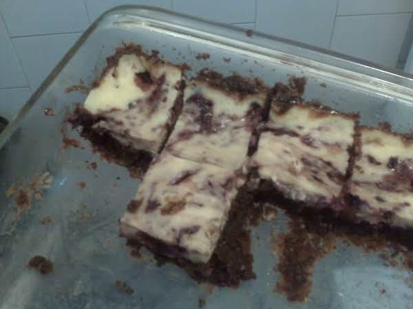 Blackberry Cheesecake Brownies Recipe