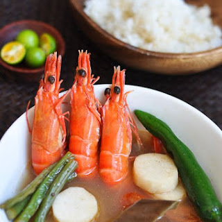Shrimp Sinigang.