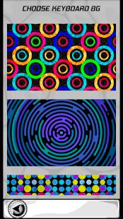 Kruhy klávesnice - náhled