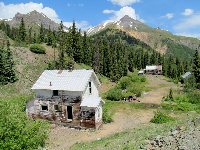 Photo: Houses near the Idarado Mine
