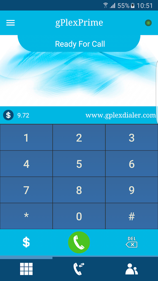 gPlex Dialer Prime- screenshot