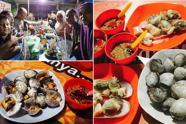 Kuliner Kerang Rebus Medan