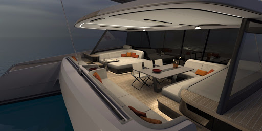 Vantage 86 catamaran