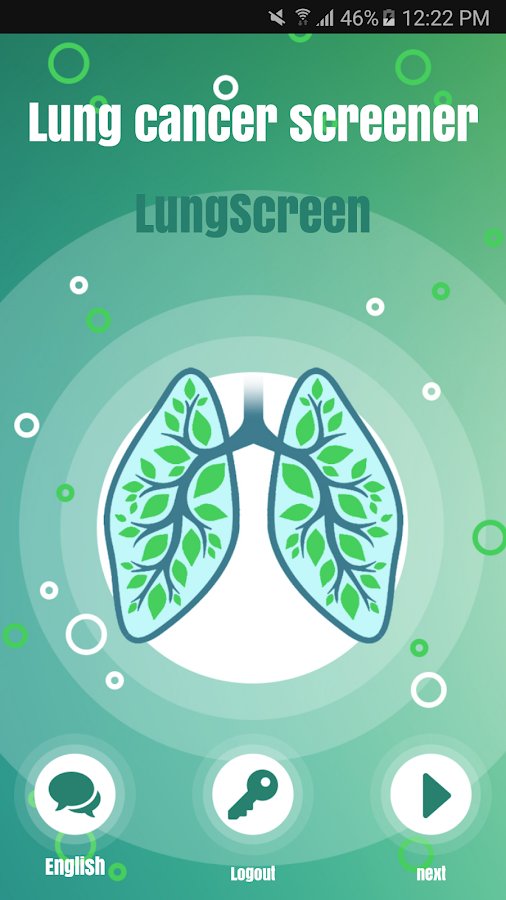 LungScreen- screenshot