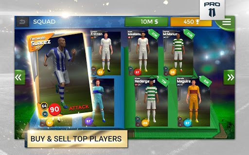 Pro 11 - Soccer Manager Game apkmr screenshots 8