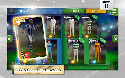 Pro 11 – Soccer Manager GameApk Download For Android 9