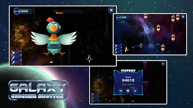 Chicken Shoot Galaxy Invaders!