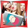 Face to face video chat game APK