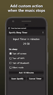 Sleep Timer for Spotify - náhled