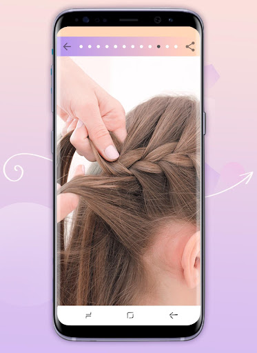 Hairstyles step by step 1.23 screenshots 6