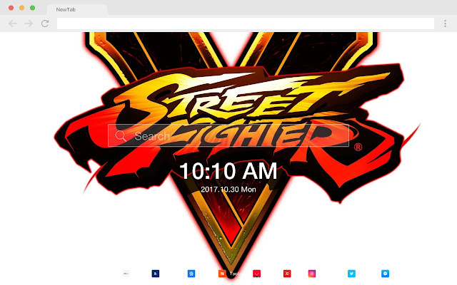 Street Fighter V Games New Tab HD Themes