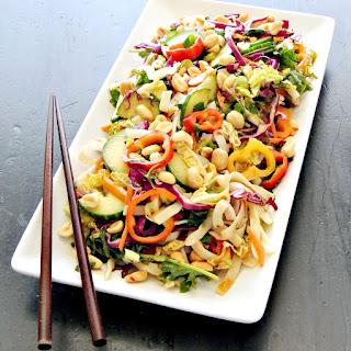 Thai Peanut Noodle Salad.