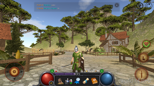 World Of Rest: Online RPG  άμαξα προς μίσθωση screenshots 1