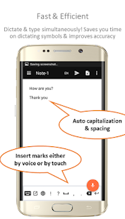 Speechnotes - Speech To Text Screenshot
