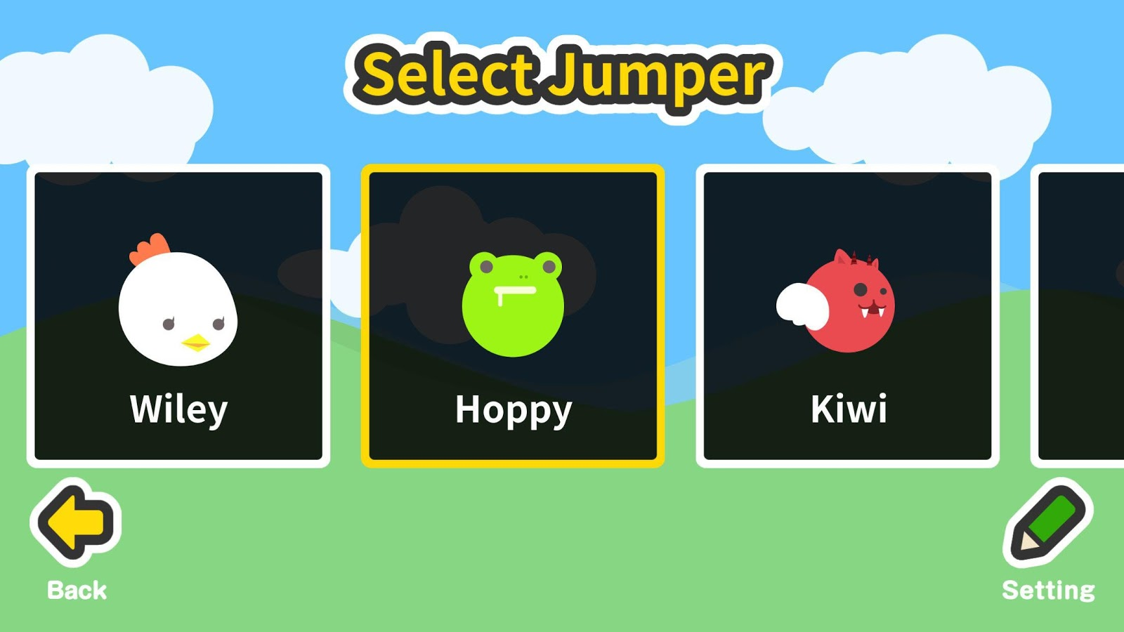 Side scroll action game:Jumper- screenshot