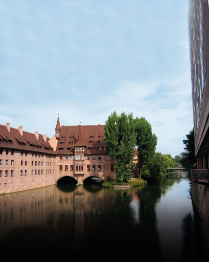 Viking-Freya-Nuremberg - Take a tour of one of the many sights of Hamburg, the Heilig-Geist-Spital on the Pegnitz River.
