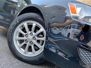 ギャランフォルティス CY6A 1.8 スーパーエクシードのタイヤのカスタム事例画像 ぐっさんの2019年01月11日16:04の投稿
