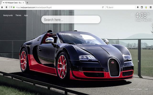 Bugatti Sports Cars HD Wallpapers