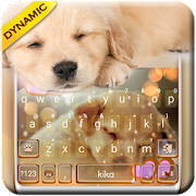Dynamic Sleeping Puppy Keyboard Theme