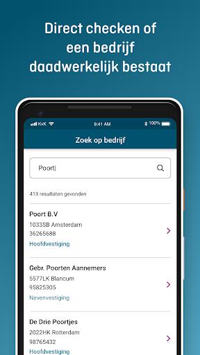 KVK App Handelsregister screenshots 2