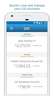 Citi Mobile®- screenshot thumbnail
