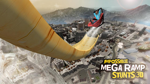 Impossible Mega Ramp Stunts 3D android2mod screenshots 2