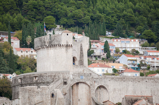 Old-Dubrovnik-4.jpg - The fall of Constantinople in 1453 lit a fire under the locals to start fortifying Old Dubrovnik.