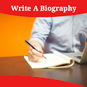 How To Write A Biography icon