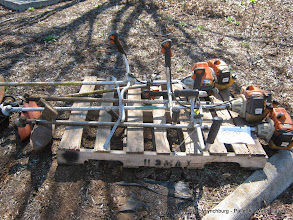 Photo: Lot 41 - (Pallet #1) - 5 Stihl FS-250 Weed Eaters